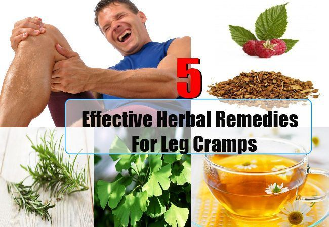 5 Effective Herbal Remedies For Leg Cramps