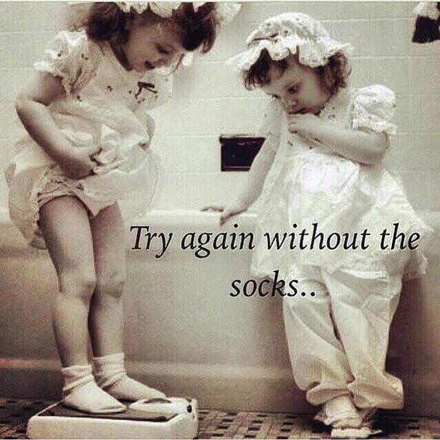Try again without the socks...
