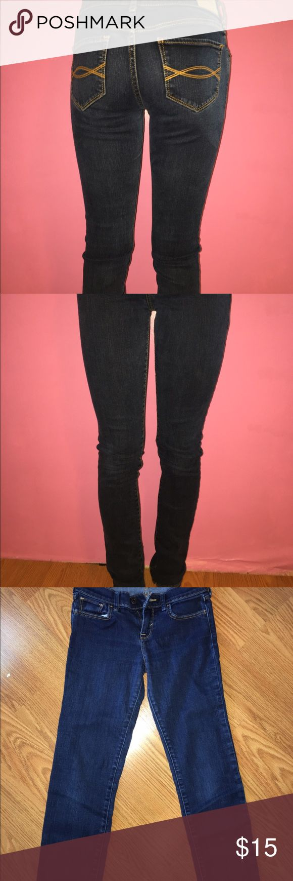 Abercrombie Girls jeans Like new Abercrombie Girls jeans. Only worn a couple times. Abercombie Kids Bottoms Jeans