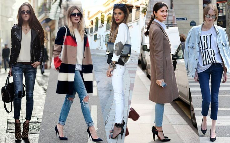 skinny jeans 2014 street style #trend #fashion #style