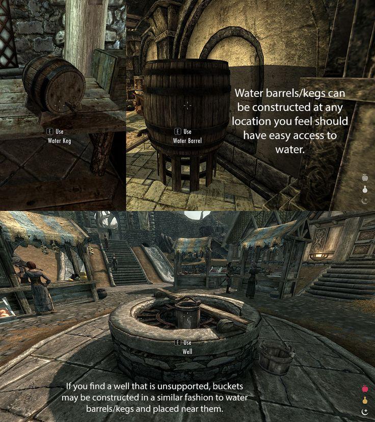 iNeed - Food Water and Sleep at Skyrim Nexus - mods and community