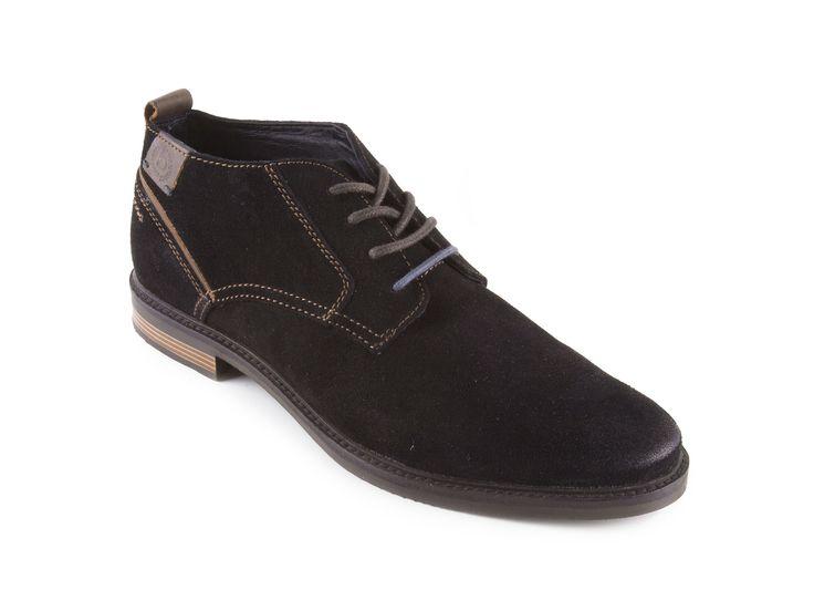 Bugatti - Pánské módní kotníkové boty se šněrováním VANITY EVO F7536-PR3 / černá