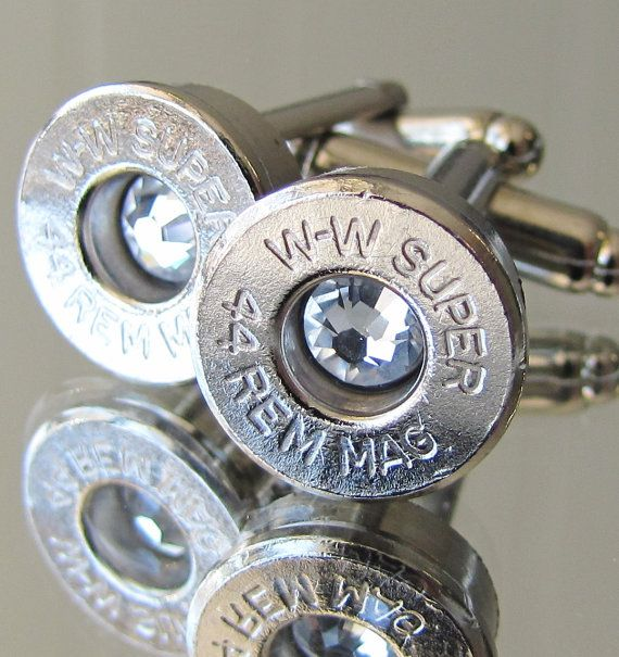 Hey, I found this really awesome Etsy listing at https://www.etsy.com/listing/184880867/44-magnum-winchester-mens-cufflinks