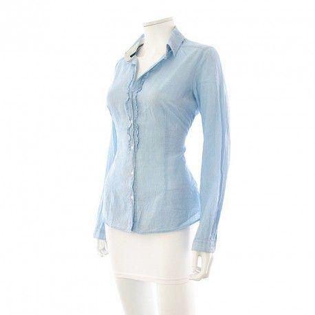 Shoppez votre Chemisier - Zara - Taille: L à -10% : état neuf, pour encore plus de réduction visitez notre site : www.entre-copines.be, livraison gratuite dès 45 € d'achats vers la France & Belgique  ;)