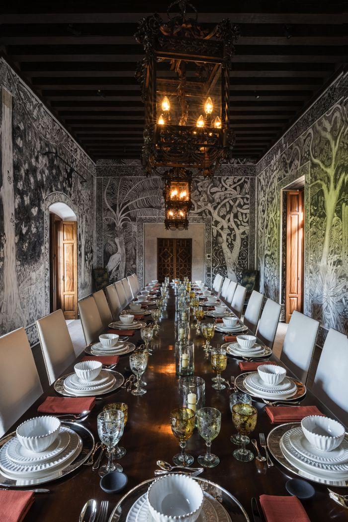 Un palais baroque au Mexique Dining Pinterest Interior