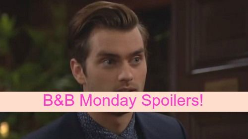 """""""The Bold and the Beautiful"""" spoilers for Monday, November 16, tease that Wyatt (Darin Brooks) will get fed up with all the flirting Thomas"""