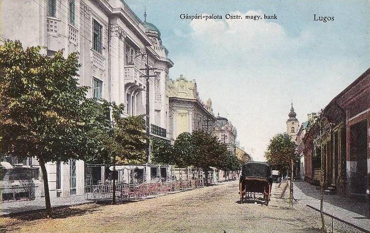 Lugoj, Palatul Bejan anul 1914