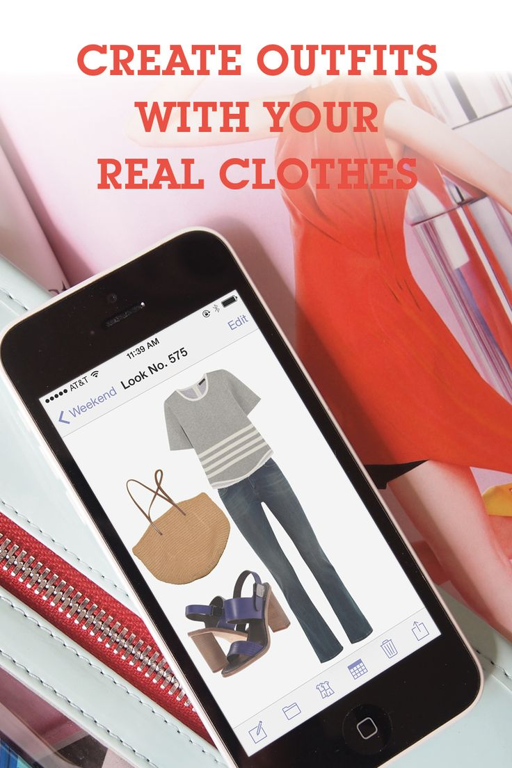 Get dressed in 5 minutes! Save all your favorite outfit ideas using pictures of your real clothes so you always know what to wear!