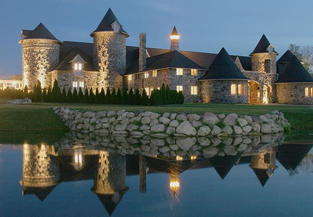 """AARP shares """"10 Must-See American Castles"""" - including Castle Farms in Charlevoix, Michigan."""