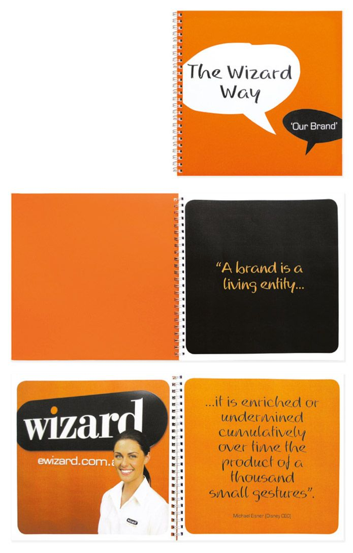 Wizard home loans brand book