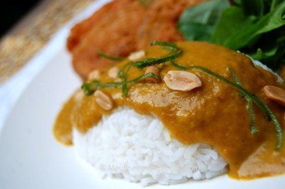 Vegan version of Wagamama Yasai Katsu Curry
