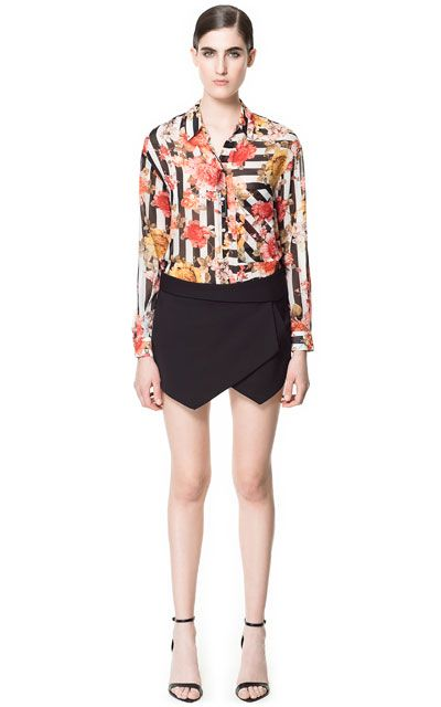 CULOTTE SHORTS - Woman - New this week - ZARA United States