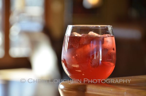 Wild Strawberry Moscato White Wine Sangria - The Intoxicologist
