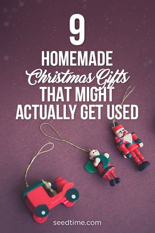 9 Homemade Christmas Gifts That Might Actually Get Used