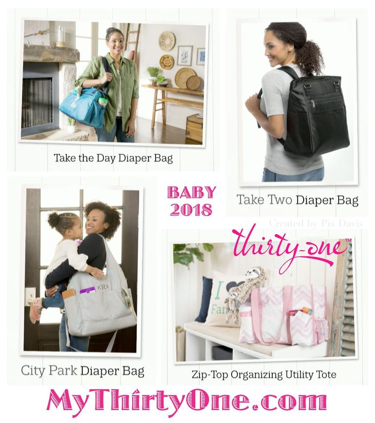 #31 Thirty-One Gifts has a new BABY collection  with new styles, prints and personalization ideas coming April 2018.  New Diaper Bags include Take the Day, City Park and Take Two  as well as the Zip Top Organizing Utility Tote are part of this collection. The Multi Bottle Thermal, Cargo Clip on Thermal, Cool Clip Thermal Pouch and Super Swap-It Pocket are great additions too. Find these at MyThirtyOne.com/PiaDavis. Also look for Personalized Pillows, Wall Art and Purses online.