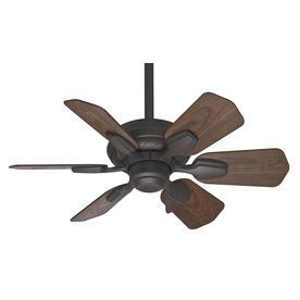 Casablanca Wailea 31-in Brushed Cocoa Outdoor Downrod or Flush Mount Ceiling Fan. At Lowe's. $219.00.