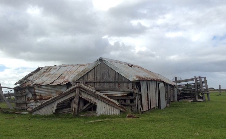 An old barn on Mundoo Island cattle station on the Coorong in South Australia. Middle section was the tack room for the draught horses (long gone). Four generations of farming paraphernalia was fascinating to tour during History month.