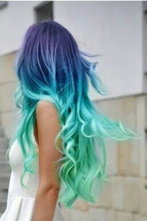 Blue and purple hair   Hair - Styles, Cuts, Colors in 2018   Pinterest   Hair, Dyed hair and Hair styles