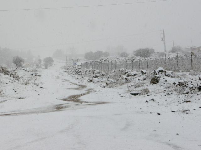 Новогодняя погода в Израиле: холодно, дожди, снегопады