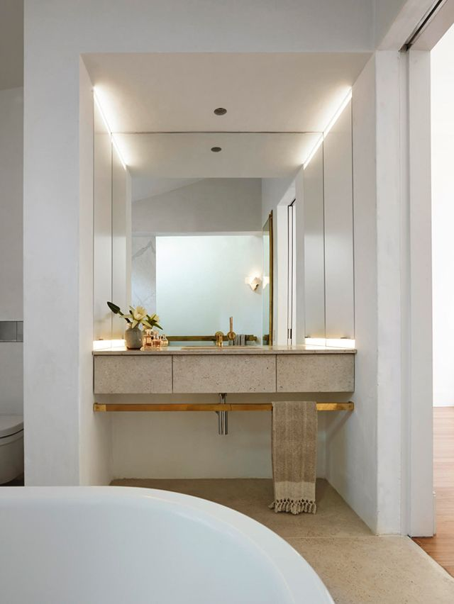 123 best bath space images on pinterest bathroom for Current bathroom tile trends 2016