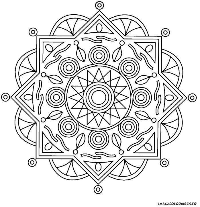Superbes dessins de Mandala 47