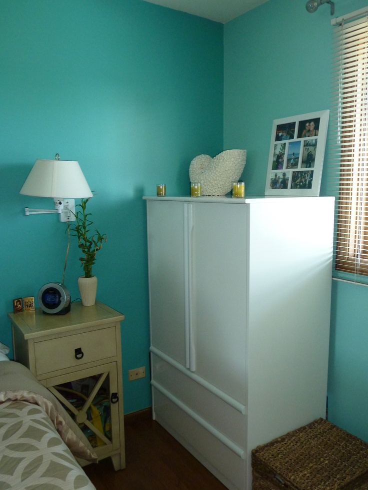 wall color behr teal zeal jamaica bay