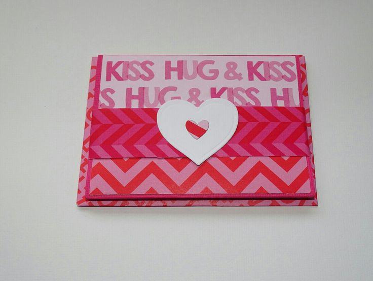 Gift Card Holder - Valentine Card - Gift Card Sleeve - Money Envelope - Greeting Card - Valentine Envelope - Gift Card Pocket - Card Making by prettypapernz on Etsy