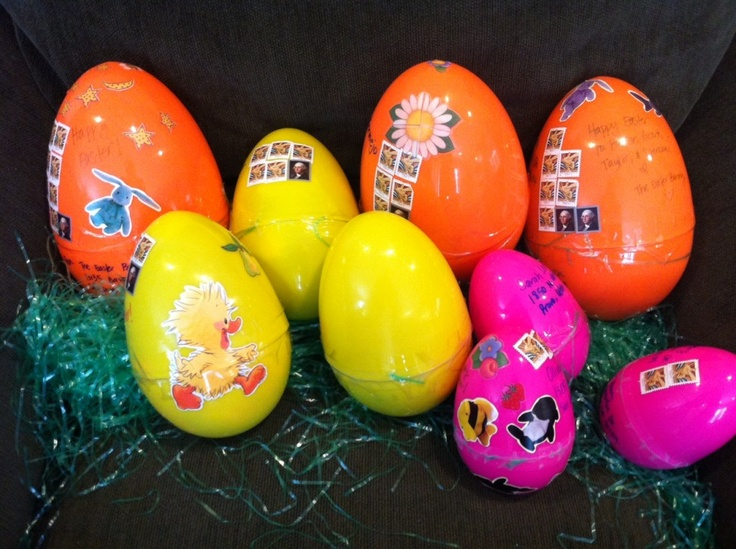 Did you know you can mail Easter eggs?  Find out how!
