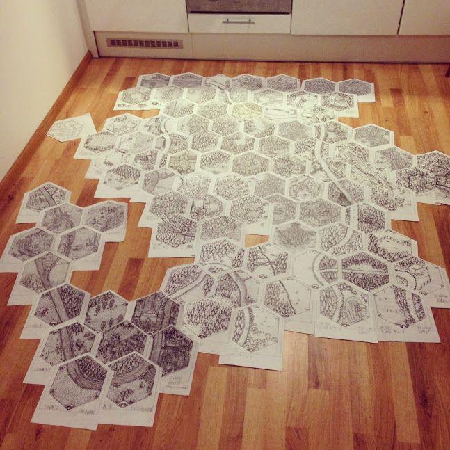 The hex worldmap project