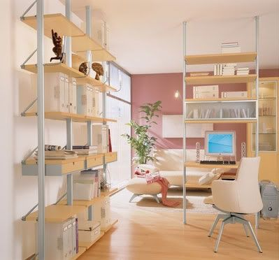 small home office furniture | Voga Modern Home Office Furniture for Small Space