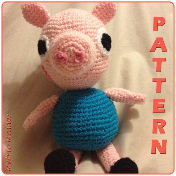 Amigurumi Deer Pattern : Peppa Pig - 14