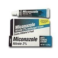 Miconazole Nitrate 2% Antifungal Cream - 0.5 oz by Miconazole. $2.43. INDICATIONS: Miconazole Nitrate 2% Antifungal Cream use For the treatment of athlete's foot (tinea pedis), jock itch (tinea cruris), and ringworm (tinea corporis). INGREDIENTS: Active Ingredients: Miconazole Nitrate 2% (100 mg Per Dose).