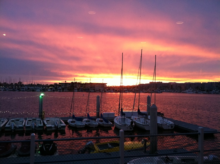View from El Torito Taco Tuesday in #MarinadelRey on 4/24/2012. Breathtaking!