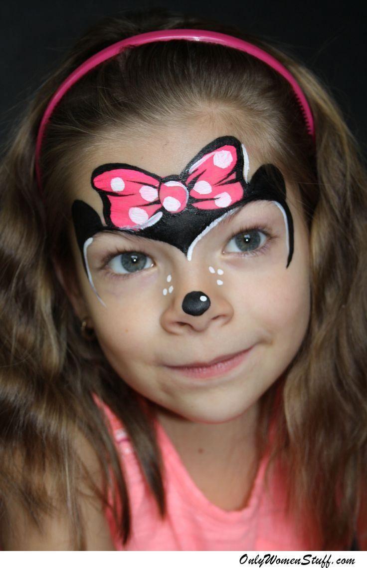40+ easy kids face painting ideas designs for little girls | face