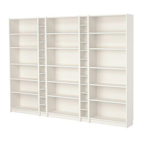 BILLY Combi bibliothèque IKEA Une bibliothèque étroite permet d'utiliser au mieux l'espace au mur, même sur de petites surfaces.