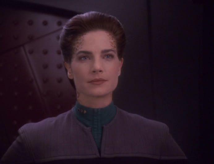 Terry Farrell Actress | Terry Farrell as Lt Cmdr Jadzia Dax Star Trek:DS9 6th season (1997-98 ...
