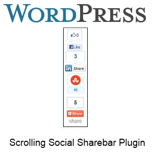 how to make a scrolling page in wordpress
