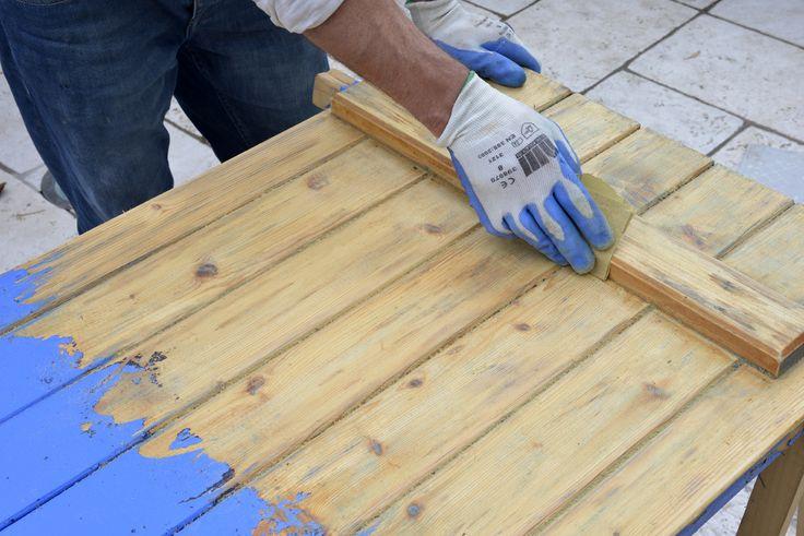 Les 27 meilleures images propos de aide la r novation du bois sur pintere - Decaper de la lasure sur du bois ...