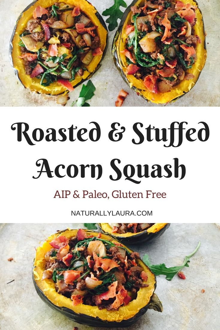 Roasted Stuffed Acorn Squash Recipe Autumn Squash Recipes