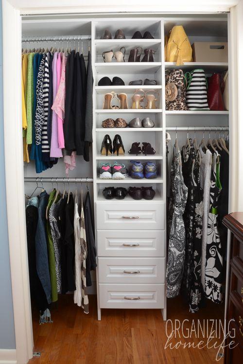 96 Best Closet Organization Images On Pinterest Bedroom Closets Bedroom Cupboards And Closet