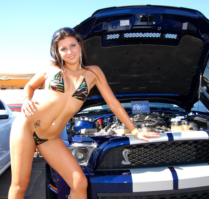 Bikini photos car Hot