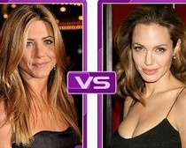 Now that Brad Pitt and Angelina Jolie are officially engaged, tabloids and celebrity gossip sites are fanning the flames of rivalry between Angelina Jolie and Jennifer Aniston again. They are already making comparisons between Brad's ex-wife and wife-to-be.