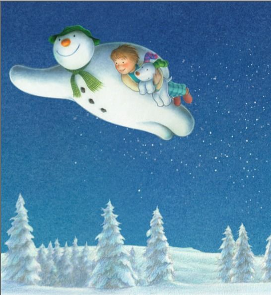 ~ The Snowman and the Snowdog ~ The sequel to The Snowman ... I'm buying this today. Haven't seen it yet...