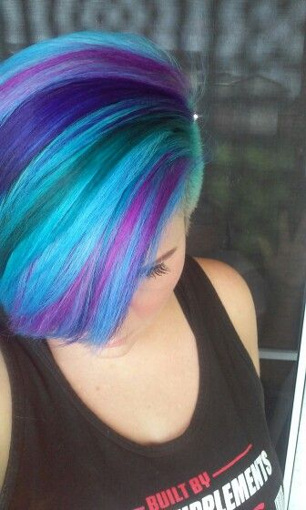 Tintes Fantasia I See Your True Colors Shining Through Pinterest Star Hair Dye And Colourful