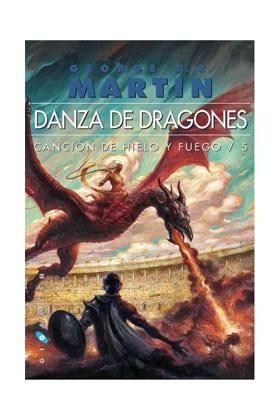 Libro Canción de Hielo y Fuego: Danza de dragones. Edición Rústica