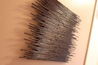 Designer MacGyver: Chopsticks: Wall Art, Chopstick Art, Crafty, Chopstick Decor, Craft Ideas, Diy, Awesome Chopstick, Crafts