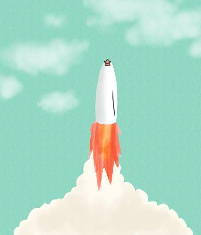 文鳥ロケット