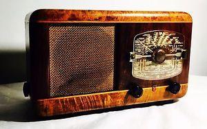 RADIO a Valvole Vintage PHILIPS BI490A 1946 Rara Collezione | eBay