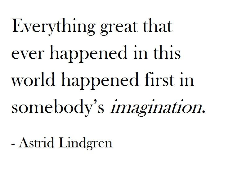 Everything great that ever happened in this world happened first in somebody's…