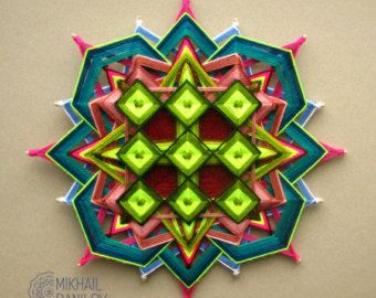 Magic Circle 11 inch 27cm  Ojo-de-Dios Mandala by DanilovMandala